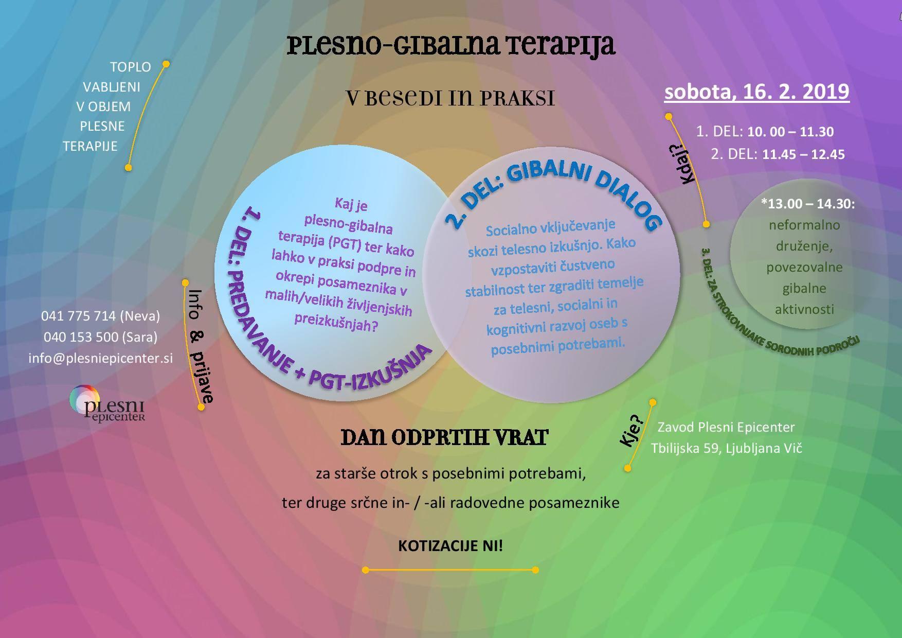 Plesno gibalna psihoterapija v besedi in praksi